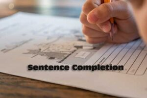 Sentence Completion Exercises