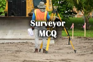 ITI Surveyor Questions and Answers