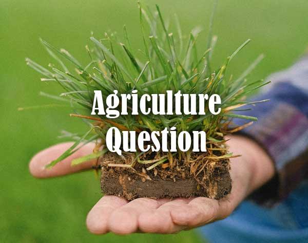 Agriculture Quiz