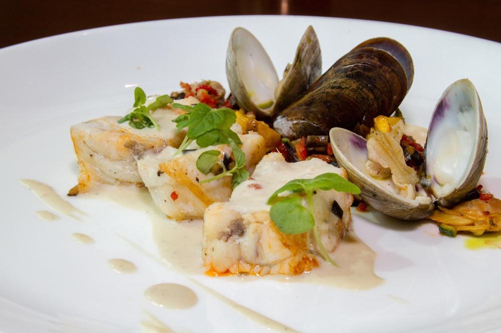 Pan-Roasted Monkfish from Atrio Restaurant & Wine Room