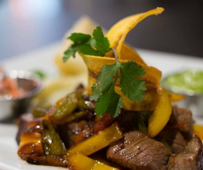 Sautéed Beef & Roasted Peppers from Artisan Kitchen & Bar