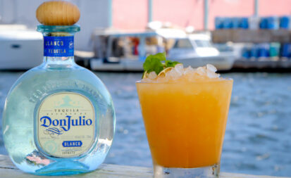 A Cinco de Mayo cocktail from Kiki on the River