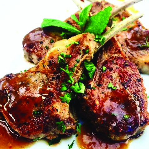 Sawa Restaurant & Lounge - Lamb Chops