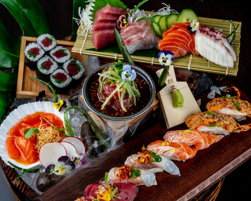 Osaka Food Omakase Platter - The Best Restaurants for Lunch in Brickell