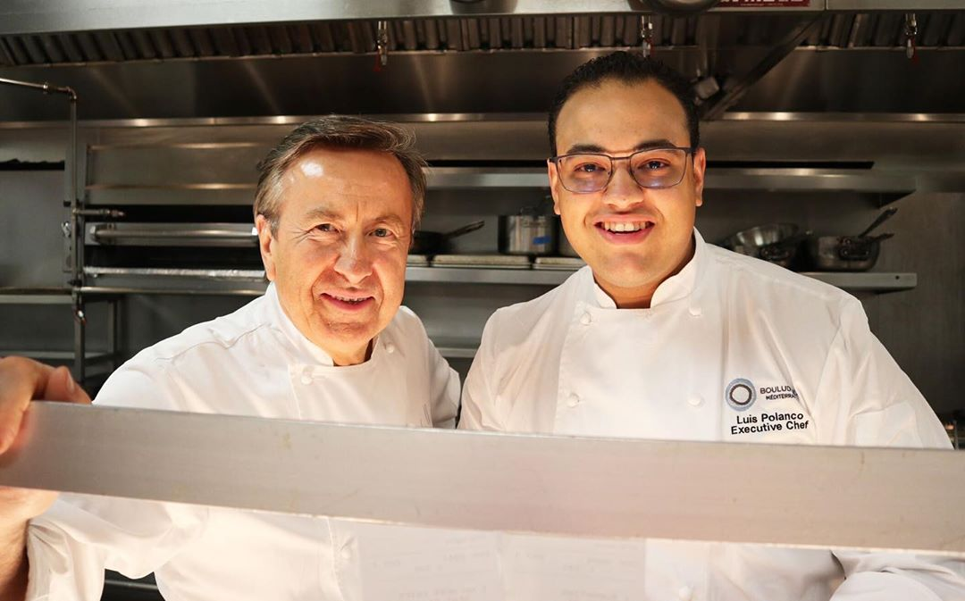 Chef Daniel Boulud and Chef Luis