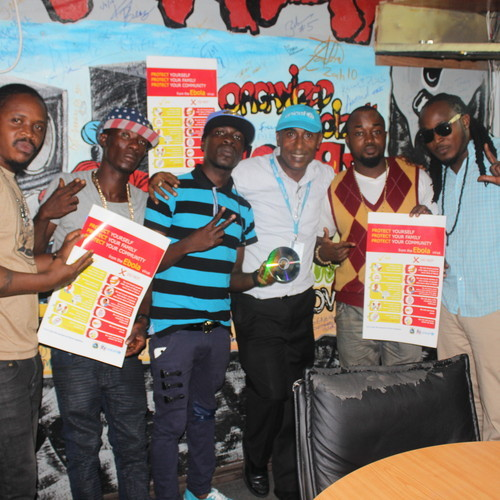 Music that gives people information about preventing Ebola.