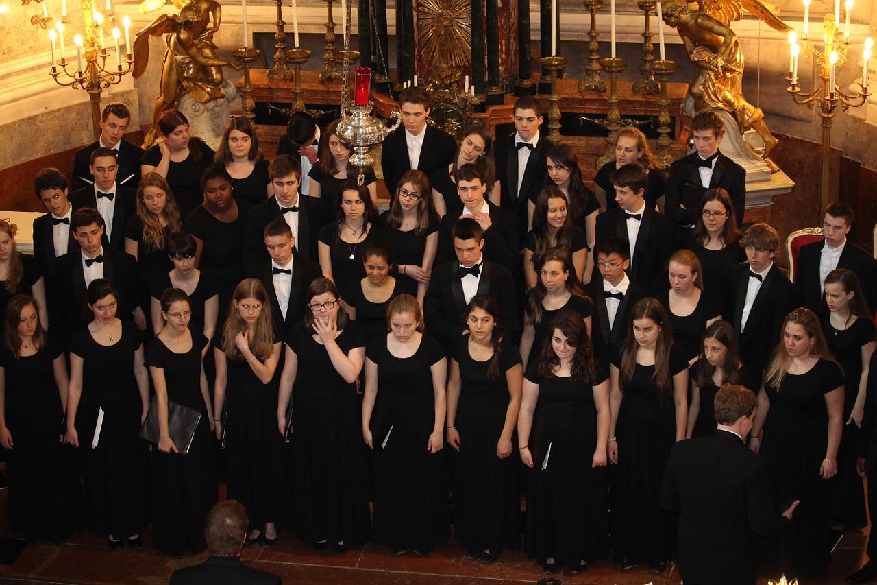Gender imbalance in high school music programs.