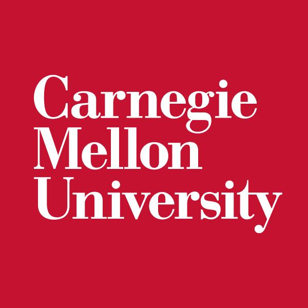 Carnagie Mellon University logo-red-600x600