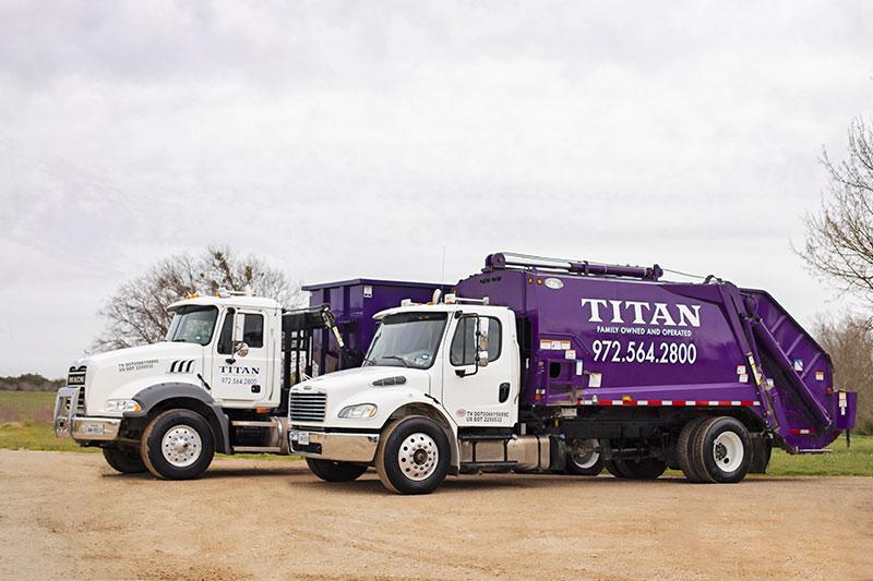 Titan Waste Forney Texas