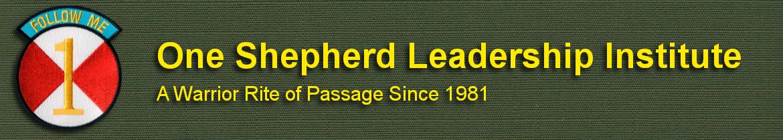 One Shepherd Leadership Institute