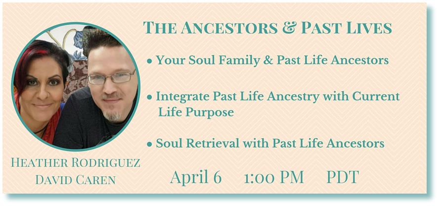 Heather rodriguez & David Caren- Guardian Ancestors Telesummit