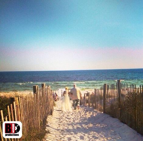 Bud and Alley's Seaside Wedding DJ