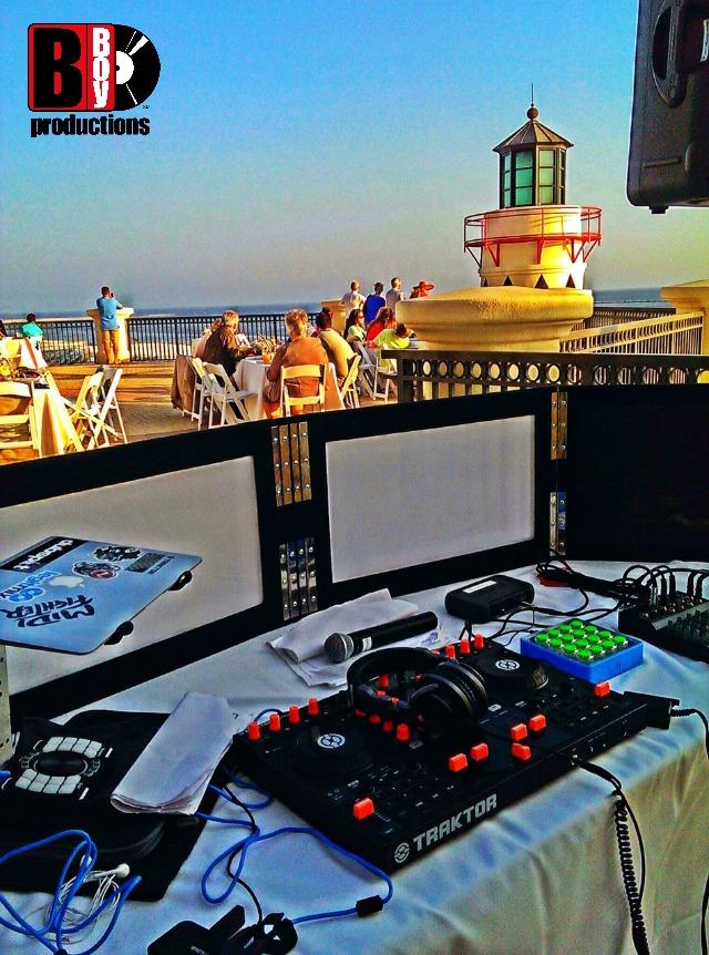 Emerald Grande Wedding DJ Booth