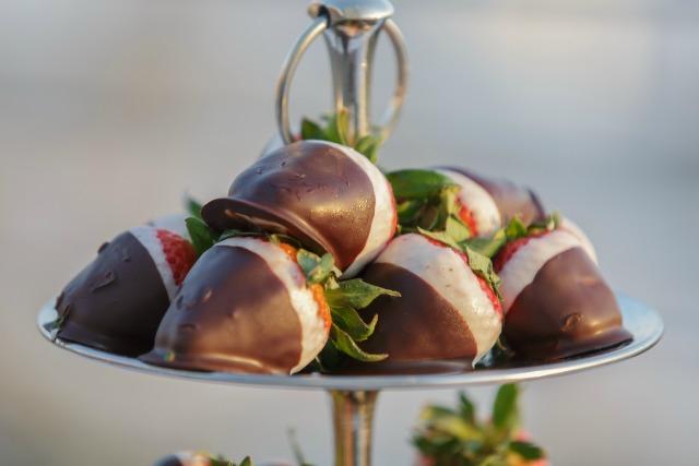 Hilton Sandestin Wedding Dessert