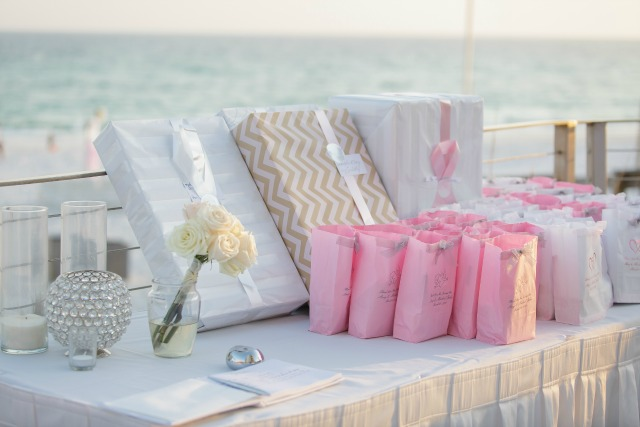 Hilton Sandestin Wedding Guest Sign In Table