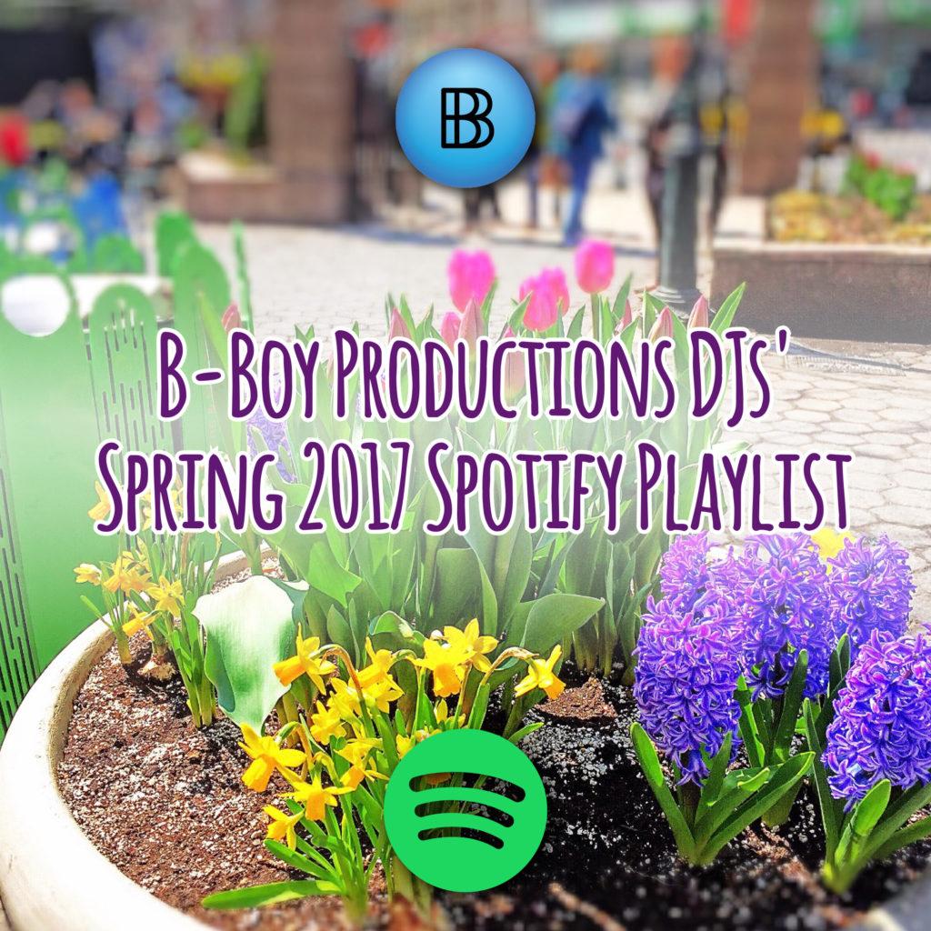 Spring 2017 Spotify Playlist