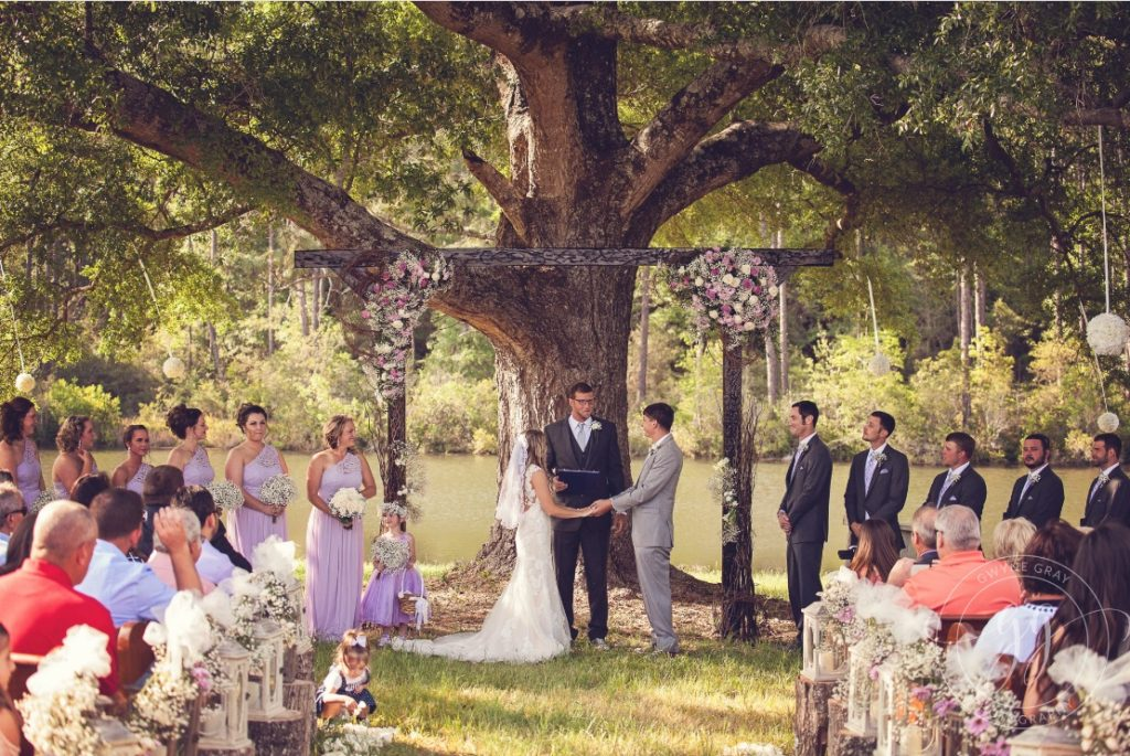 Florida Barn Wedding Ceremony