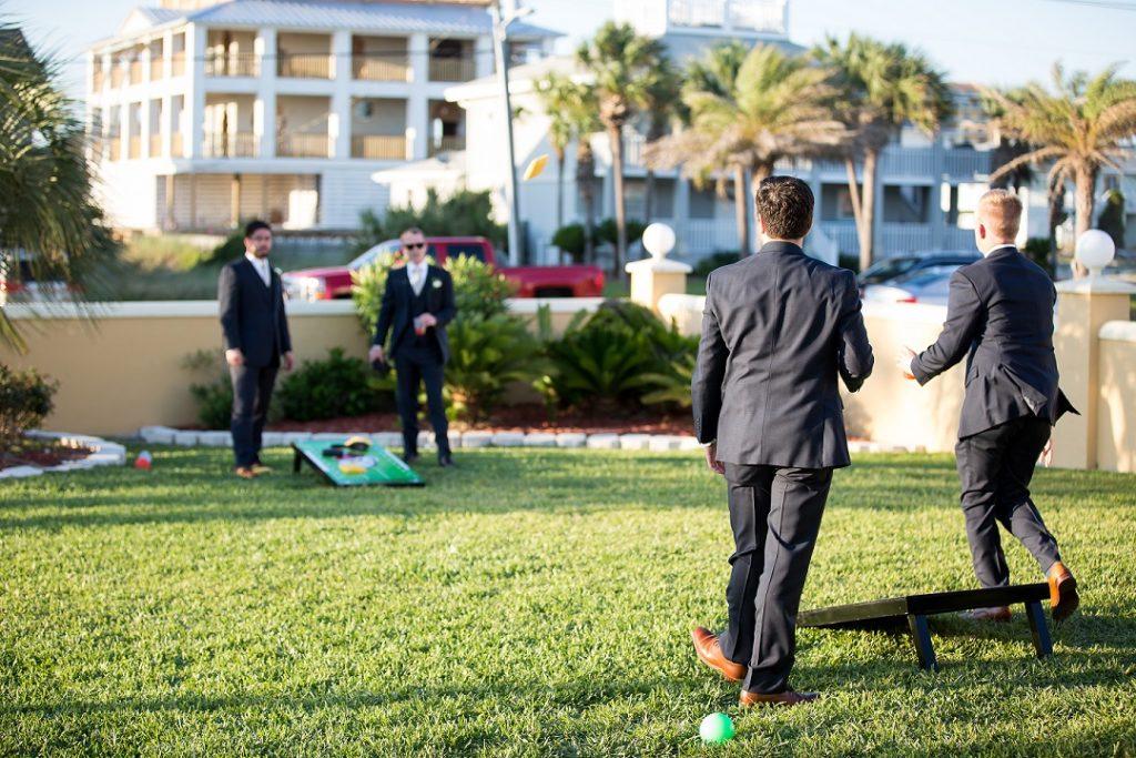 Destin Wedding Lawn Games