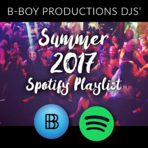 Summer 2017 Spotify Playlist