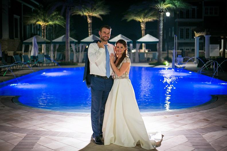 Henderson Wedding DJ in Destin FL