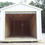 10' X 16' Premium Lawn and Garden Shed Open View