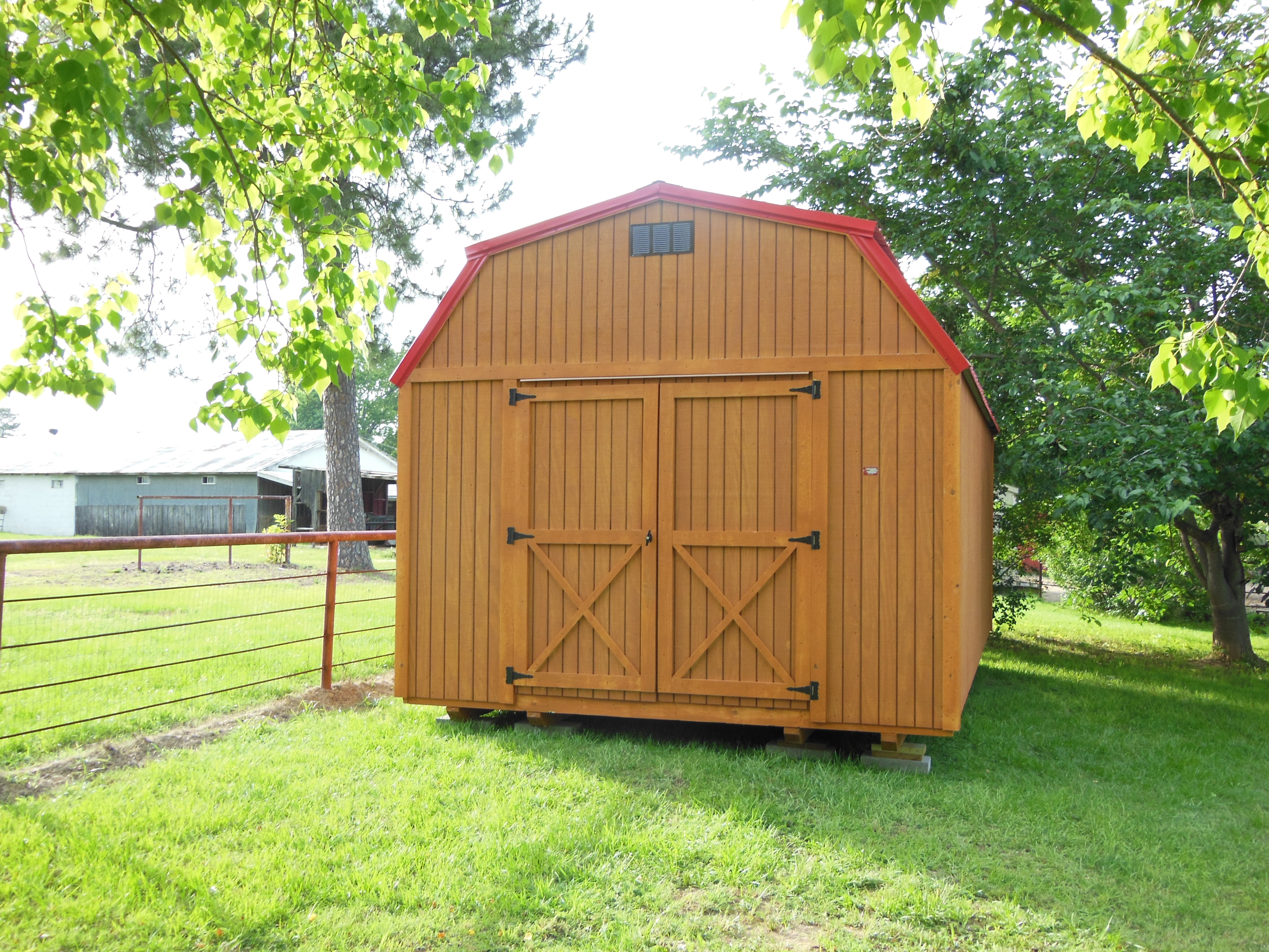 Lofted Barn Portable Shed