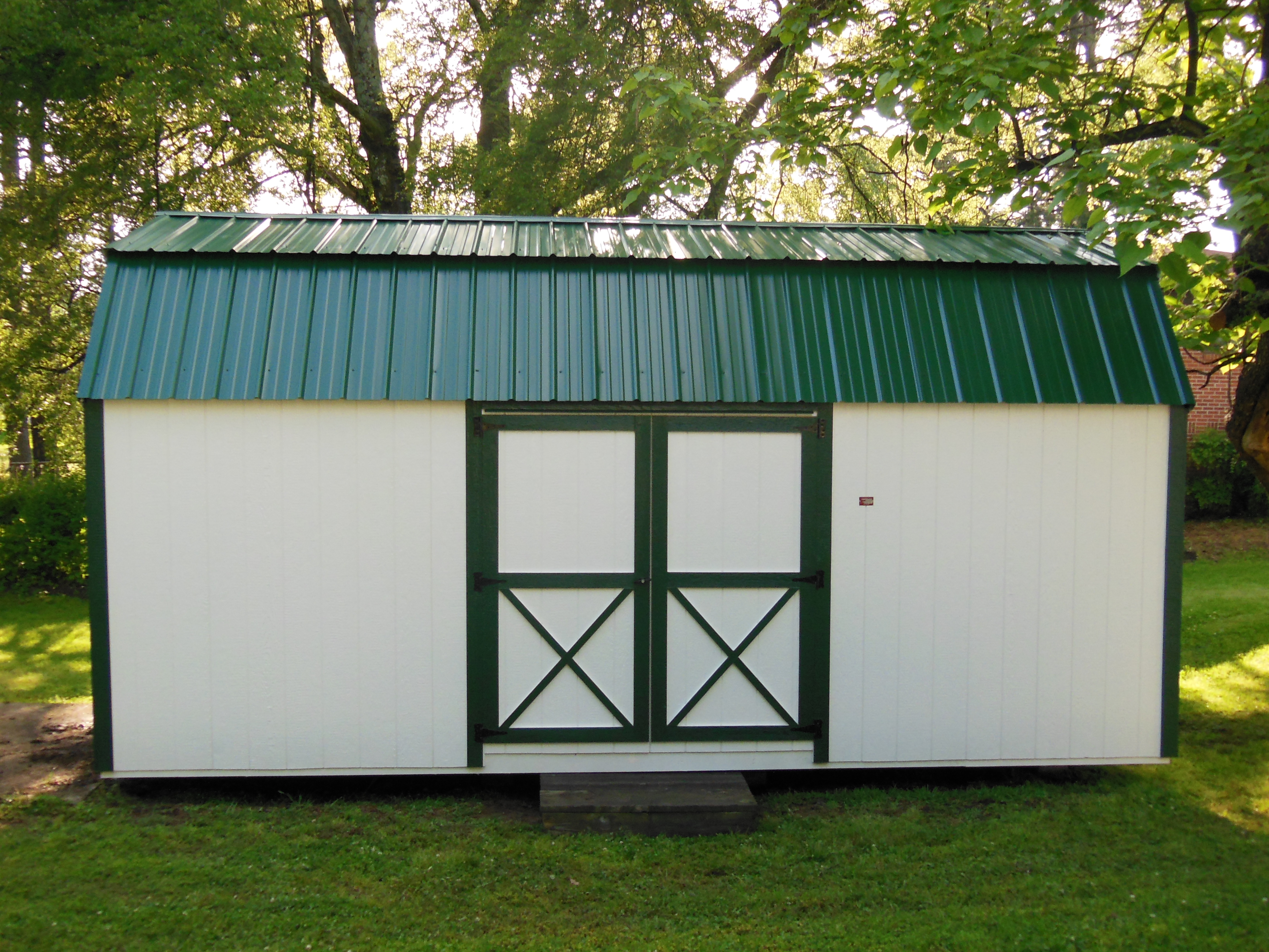 Side Lofted Barn Storage Shed