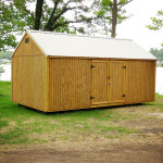12' X 24' Side Lofted Utility