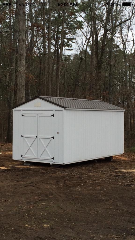 Utility Storage Shed