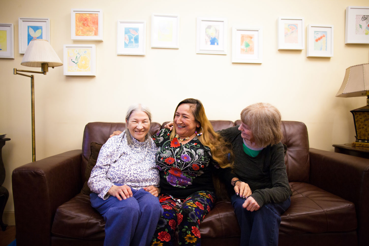 DWC provides comfortable spaces for women to build community with one another.