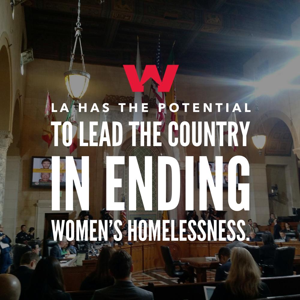 Ending Women's Homelessness