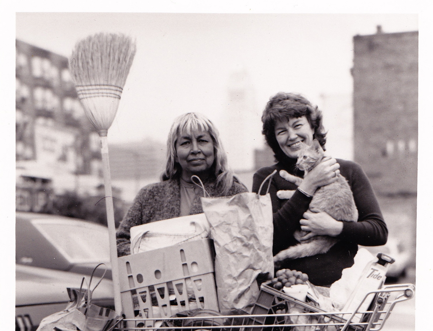 Jill Halverson, a former Peace Corps volunteer, was working on Skid Row as an outreach worker.