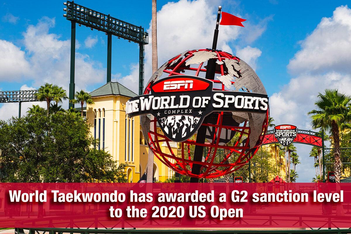 Taekwondo 2020 US Open Registration via Simply Compete's platform