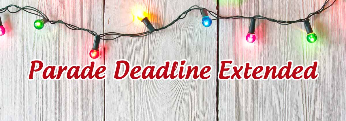 Parade of Lights Deadline Extended