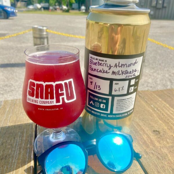 Snafu Brewing Company Blueberry Almond Pancake Milkshake Sour
