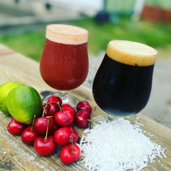 Snafu Brewing Company Cherry Limeade Sour Milkshake & Shadow of Death by Coconut Coffee Stout