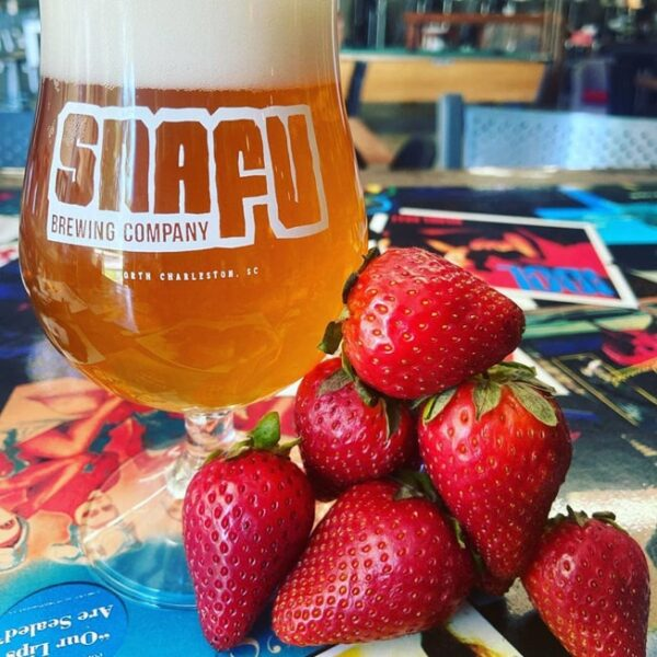 Snafu Brewing Company Strawberry Milkshake Berliner Weisse
