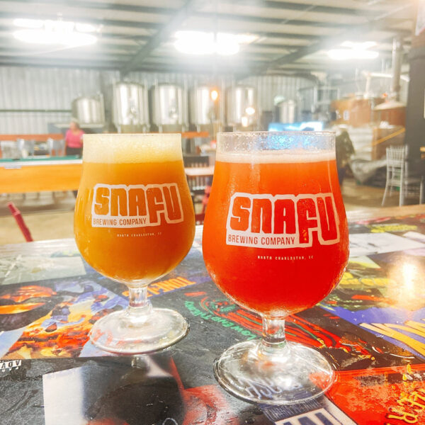 Snafu Brewing Company Watermelon Lemonade Sour & Papaya Sour IPA