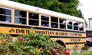 Preschool Bus, Davie Christian Academy