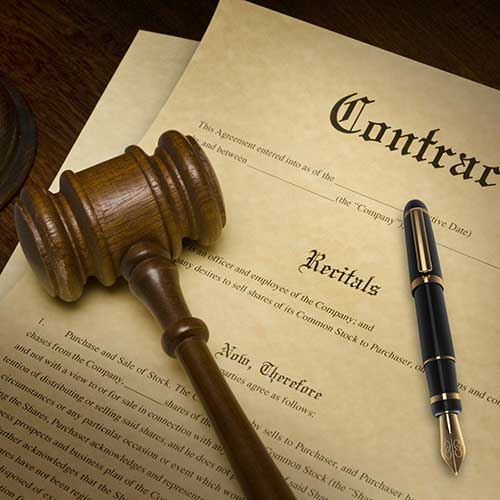 government contract novation agreement