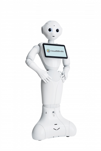 CloudMinds Cloud Pepper Humanoid Robot