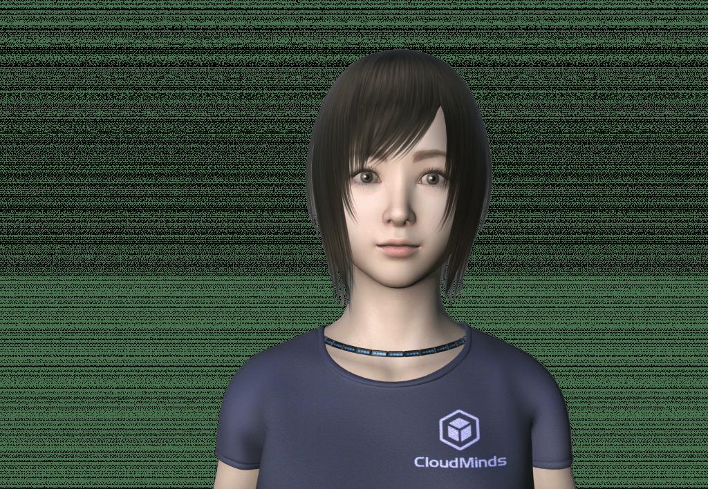 Cloudia Virtual AI Robot