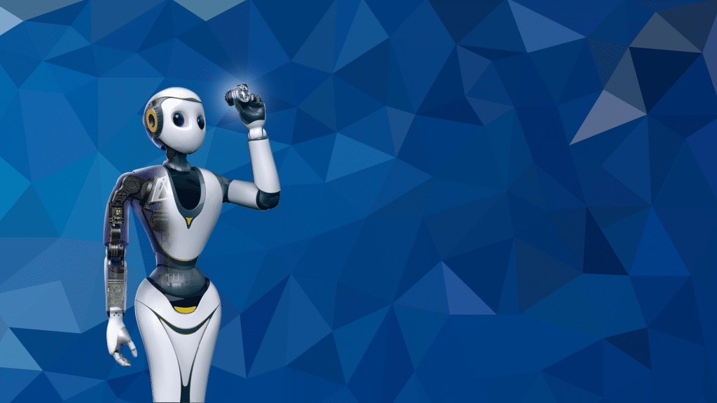 XR-1 Service Robot Powered by Cloud AI with CloudMinds background image