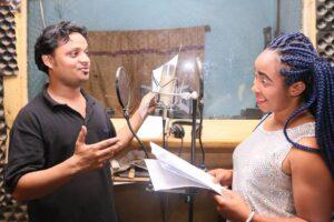 Assoc Prof Krishna N Sharma Cameroon Radio Play