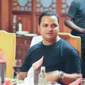 Assoc Prof Krishna N Sharma Dinner