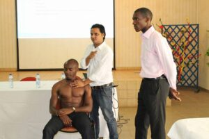 Assoc Prof Krishna N Sharma Pain Management Workshop Cameroon