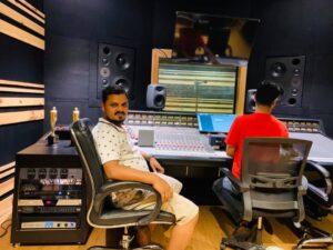 Assoc Prof Krishna N Sharma Studio Recording