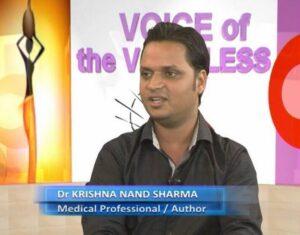 Assoc Prof Krishna N Sharma TV VOV Cameroon
