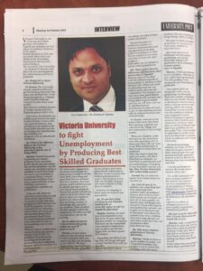 Assoc Prof Krishna N Sharma VU article