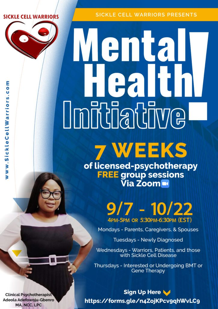 mental health group sessions adeola